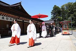 鹿島神宮 和婚式